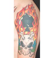 skull by TattooZagreb
