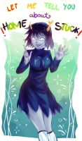 Let me tell you about homestuck! by crokanGerous