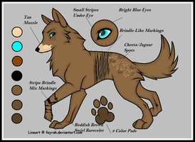 Wolf Char For Contest by banditandshastagal