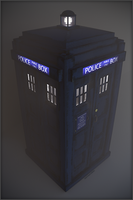 TARDIS Blender Cycles 2014 by TheBigDaveC