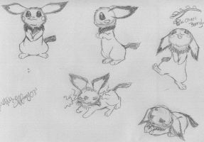 Pichu Expressions by coolcharizard200