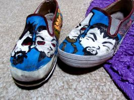System Of A Down Shoes by dame321