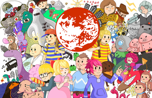 Earthbound Poster by Stuberosum