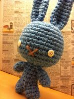 Blue Bunny by MalonB