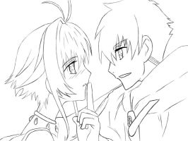Sakura and Syaoran love by gazesaki2364