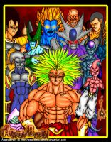 Dbz Bad Guys by AlwaysBrolly