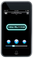 Neon Music Player by TheG-a-m-e