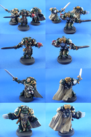 Dark Angels Honor Guard Squad by madhouse-exe