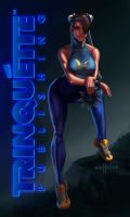 Chun Li - Trinquette Weekly Drawing Challenge by Sullyman