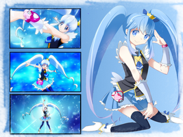 Cure Princess Wallpaper by KarenNuilCoco