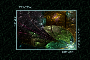 FRONT-COVER - FRACTAL DREAMS by buddhakat9