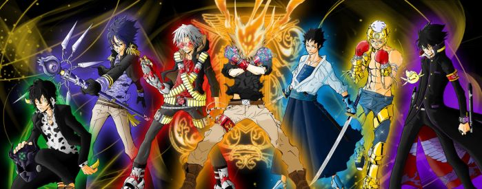 The Great Sky of the Vongola by grivitt
