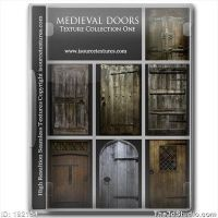 Medieval Door Textures V1 by roseenglish