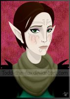 Merrill - Digital Sketchcard by Todd-the-fox