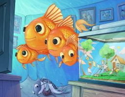 fish family image by alexichabane