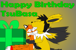 Tsubasas Belated Birthday Gift by Tails230