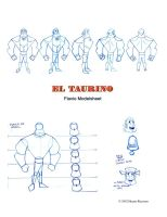 FLAVIO TURNAROUND MODEL SHEET by hecmachine