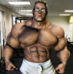 His Muscle Dream by GreysonFurrington
