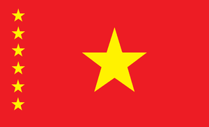 Flag of the former Democratic Republic of Zaire by kyuzoaoi