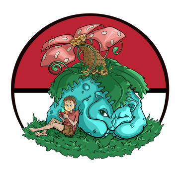 Updated Venusaur FanArt drawn by JennyGorman by JennyGorman