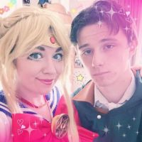 Sailor Moon and Captain Levi by Yelyah-x