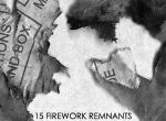 15 Firework Remnants PS Brush by HumanOddball
