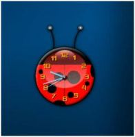 Lady Bug Clock by PeterPawn