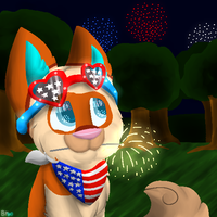 Happy 4th 'Muricans by Bailey-Kat