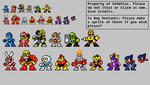 Mega Man Characters Revamped (Second Edition) by Ch4dStar