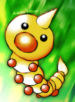 Weedle by Aeon-Mino