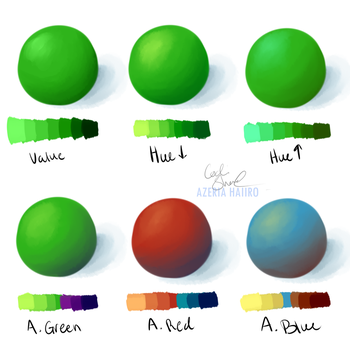 Learning Week 3 - Shading Colors by Kaiodi