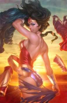 Wonder Woman Return by Artgerm