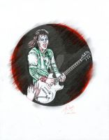 I LOVE ROCK and ROLL (JOAN JETT) by martyparkerart