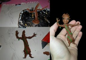 Making Baby Groot by JWBeyond