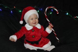Santa Baby by BeanSprout-Photog