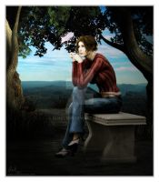 A Moment of Solitude - for Kat by Shaelynn