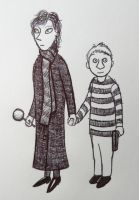Sherlock and John by SofiaAlexandra