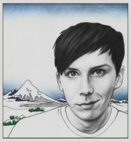 Phil Lester by DraconaMalfoy