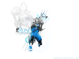 Derrick Rose Wall by imadovic