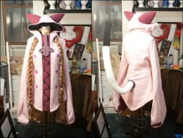Pink Taokaka Progress Pt. 3 by AngelCostumes
