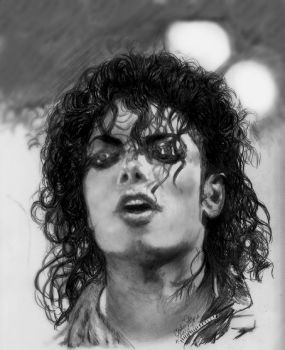Yesss MJ Hot and Sweaty by CezLeo