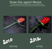 Draw This Again: Rose by Sadict