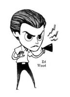 Ed Wood by Hallpen