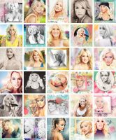 Carrie Underwood/Christina Aguilera icons by Missesglass