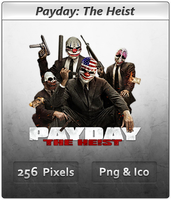 Payday The Heist - Icon by Crussong
