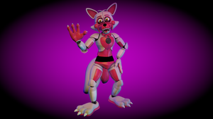Funtime Foxy by GalacticGamez