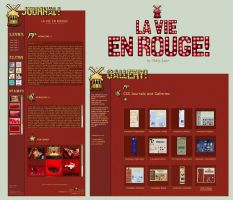 LaVie En Rouge Journal+Gallery by BaB-Jane