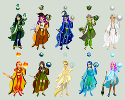 Wizard Student Dress Up. All. by TricksterGames