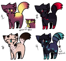 Adopts Set 14 .:OPEN:. by The-adopt-train