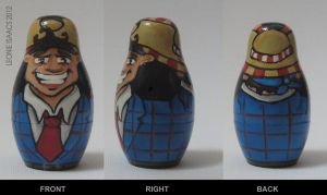 Stan nesting doll by LeonieIsaacs
